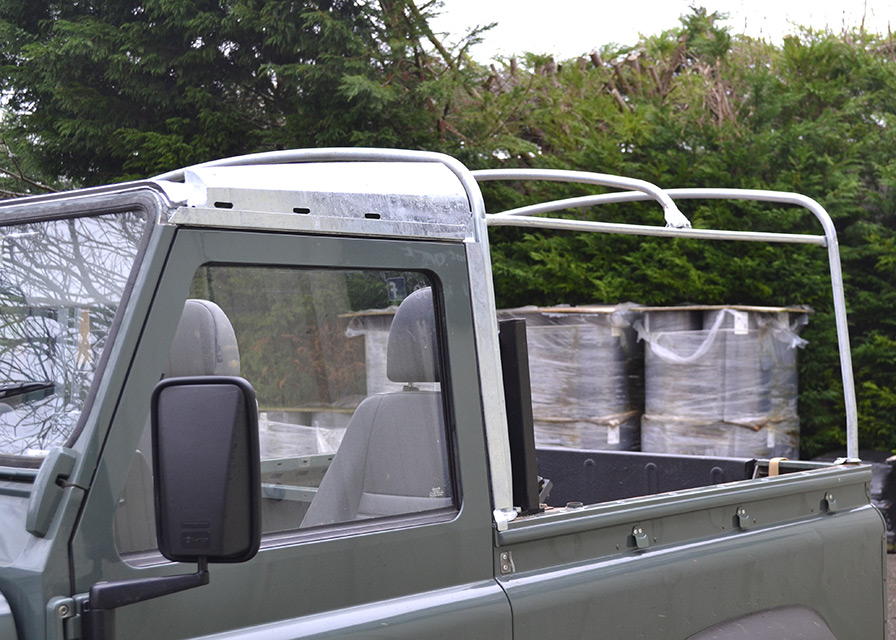 Lonas exteriores y arquillos accesorios land rover for Recambio lona toldo