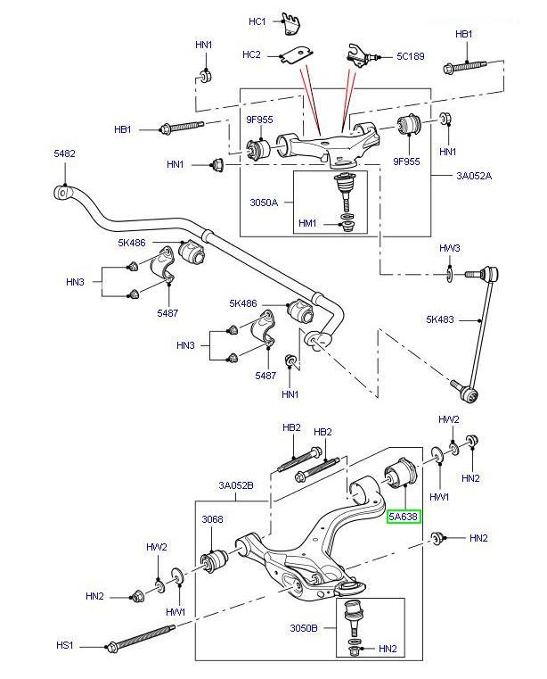recambios - productos - accesorios land rover