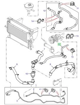 Gearbox Upper Tie Rod 1.8//V6 Pet /& Td4 Land Rover Freelander 1`01 on KKH102620